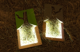 Photo frame lamp