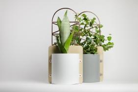 """Flowerpot """"Сopper pockets"""""""